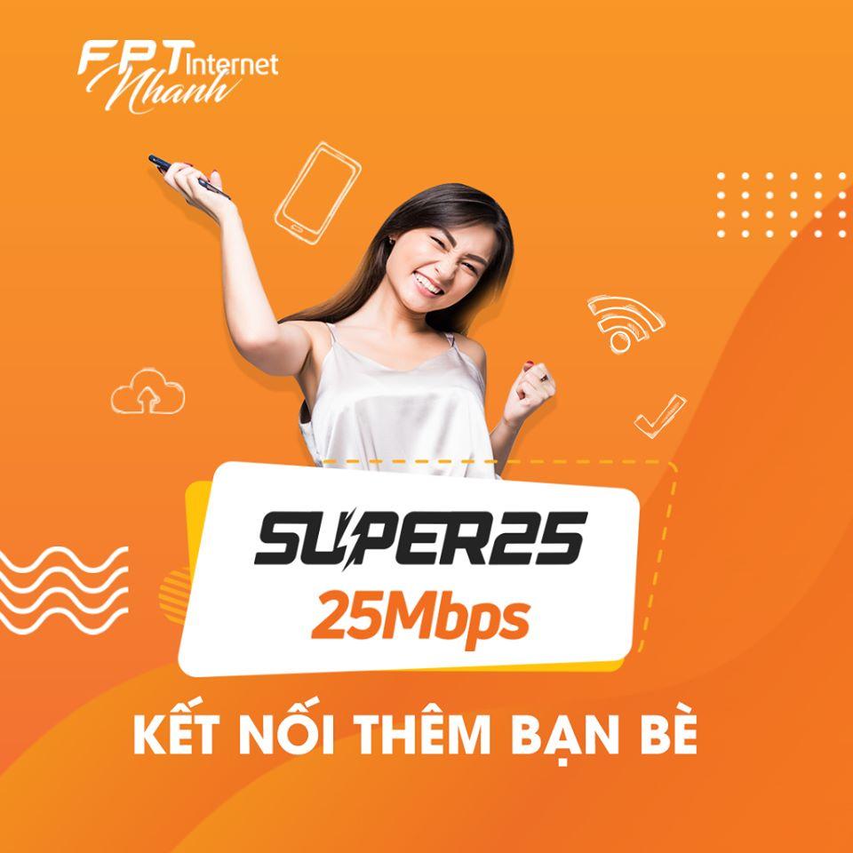 super 25Mbps
