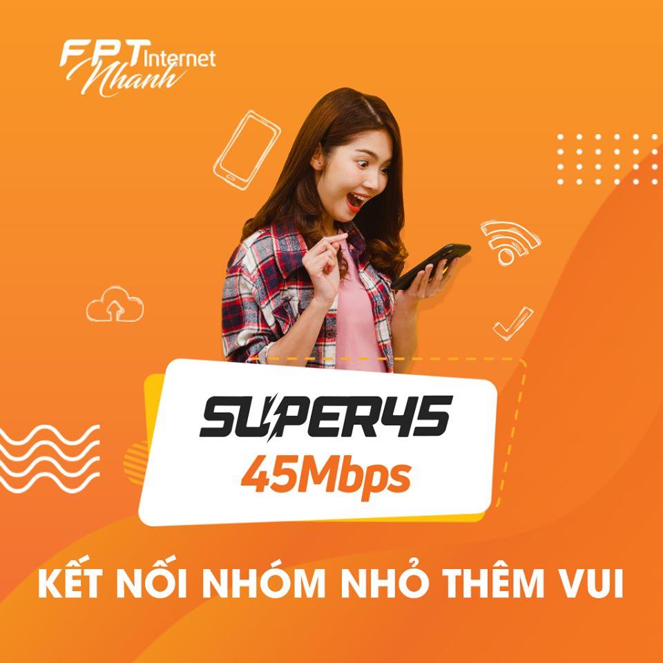 super 45Mbps